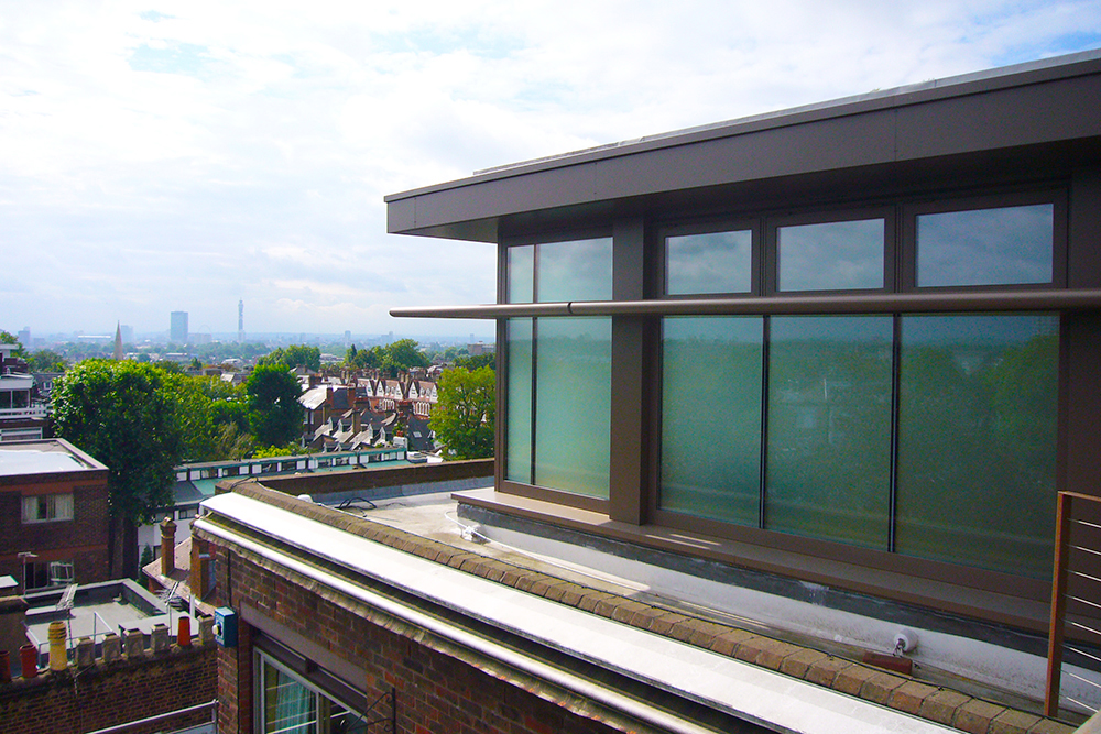 Haverstock Hill Penthouse. Architect: Peter Stern