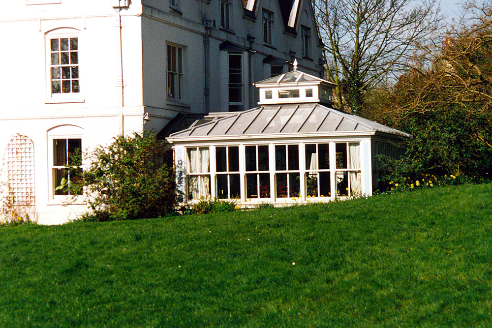 Delrow House Conservatory. Architect: Peter Stern