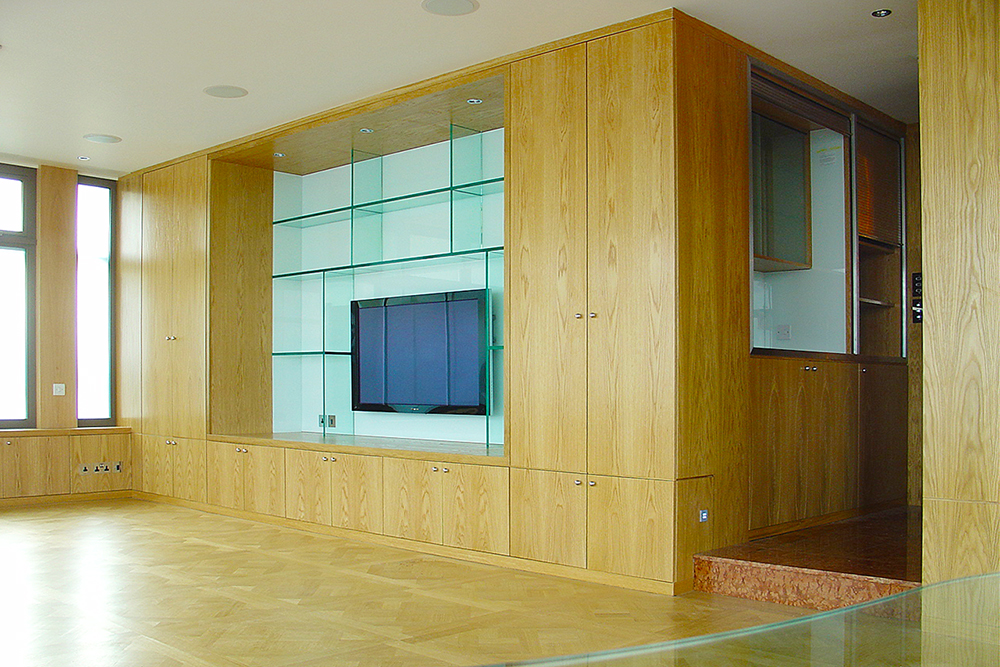 Penthouse, Haverstock Hill. Architect: Peter Stern
