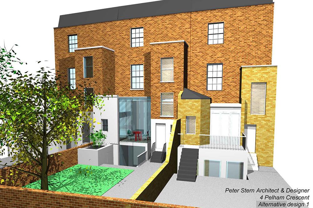 Pelham Crescent. Architect: Peter Stern